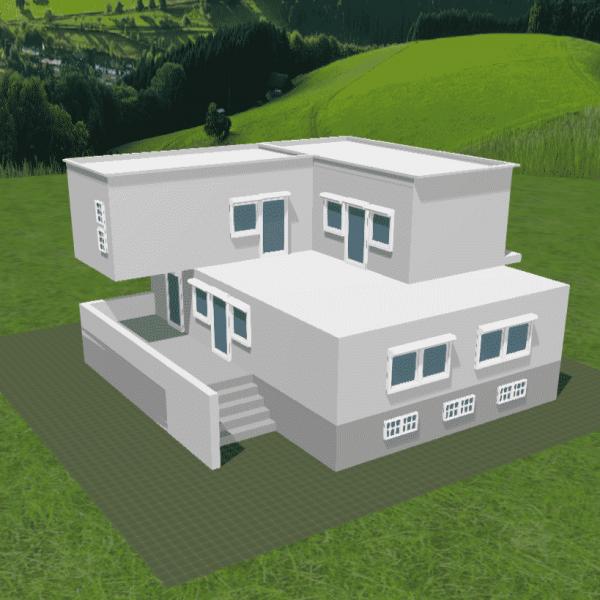 FALLER CREATE - 3D-Druck Objekte - Direktorenvilla