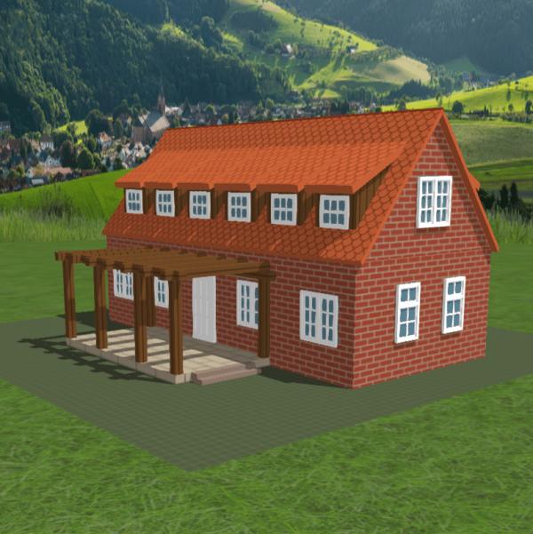 FALLER CREATE - 3D-Druck Objekte - Idyllisches Landhaus 2